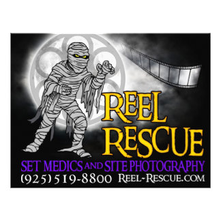 Reel Rescue Flyers/Advertising