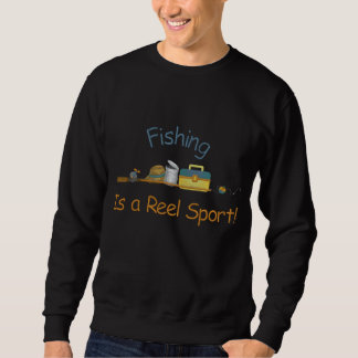 Reel Sport Fishing Embroidered Sweatshirts