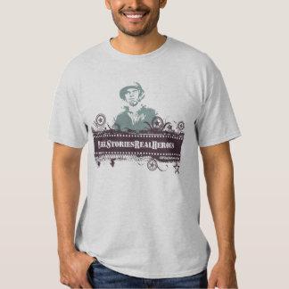 Reel Stories. Real Heroes *tshirt* Shirts