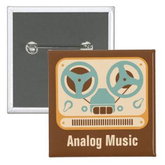 Reel to Reel ❝Analog Music❞ Tape Recorder Pins