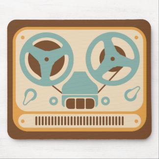 Reel to Reel Analog Tape Recorder Mouse Mat