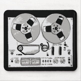 Reel to Reel Mouse Mat