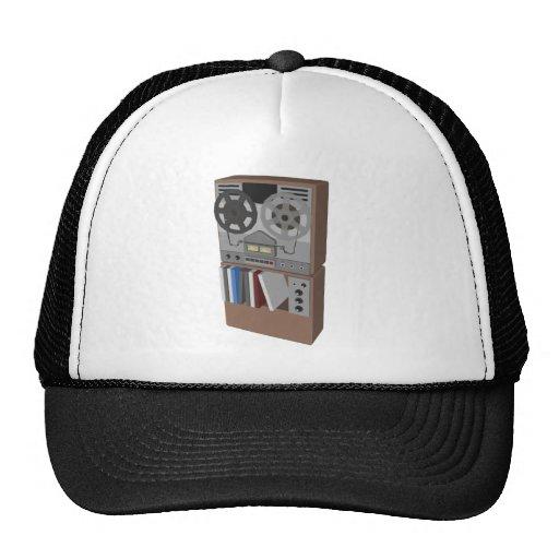 Reel to Reel Tape Player: 3D Model: Hats