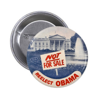 Reelect Obama 6 Cm Round Badge