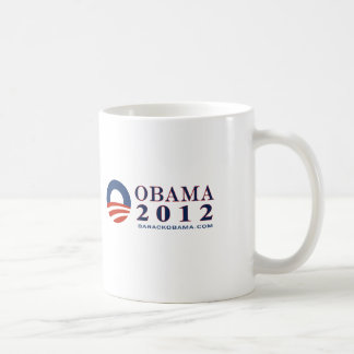 Reelect President Obama 2012 Coffee Mug