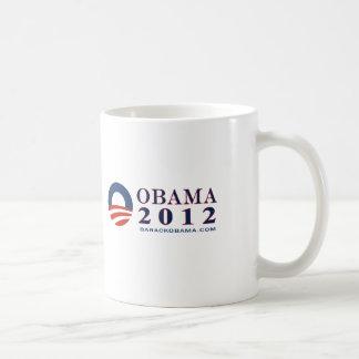 Reelect President Obama 2012 Mugs
