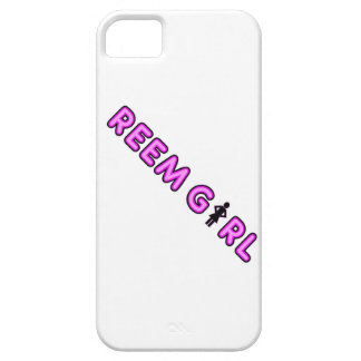 Reem Girl iPhone 5 case