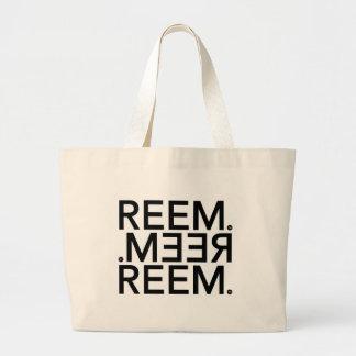 Reem. Large Tote Bag
