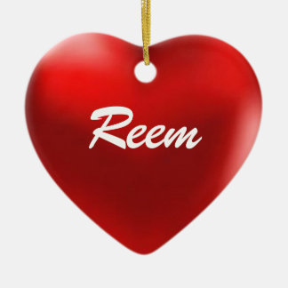 Reem Ornament Heart