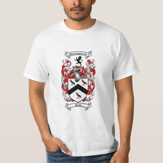 Reese Family Crest - Reese Coat of Arms T-Shirt