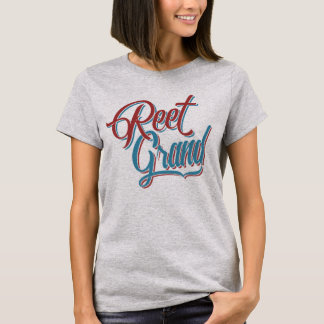 Reet Grand Yorkshire Slang Dialect Tee