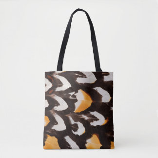 Reeves Pheasant Feather Pattern Tote Bag