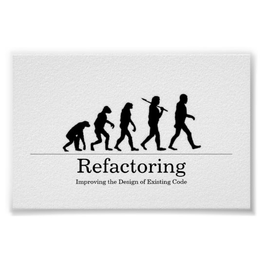 Refactoring Poster