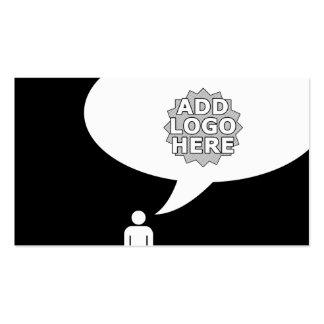 refer a friend comic bubble business cards