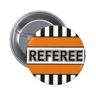 Referee 6 Cm Round Badge