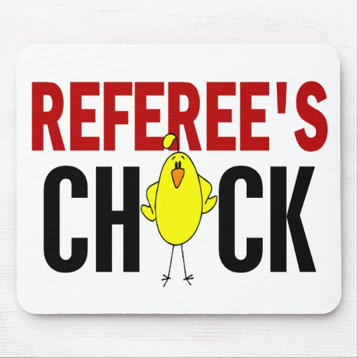 REFEREE'S CHICK MOUSE PADS