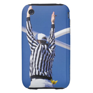 Referee signaling touchdown or successful field iPhone 3 tough cover