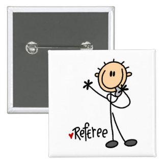 Referee Stick Figure Button