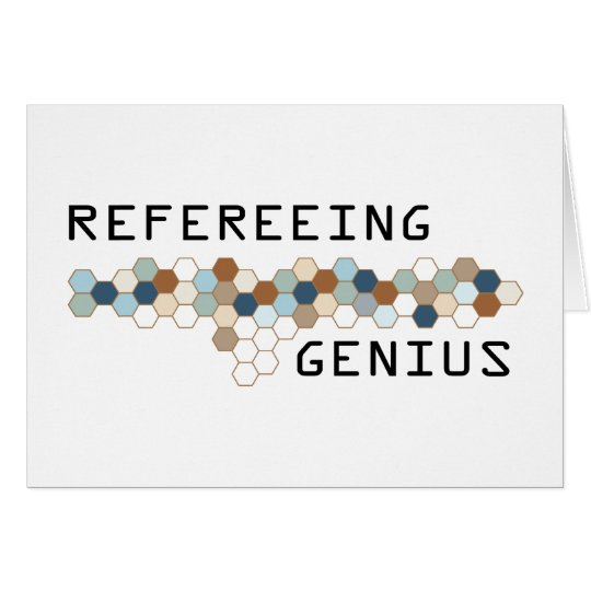 Refereeing Genius Card
