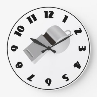 Referees Whistle Clock