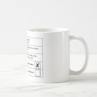 Referendum Remain in EU Basic White Mug
