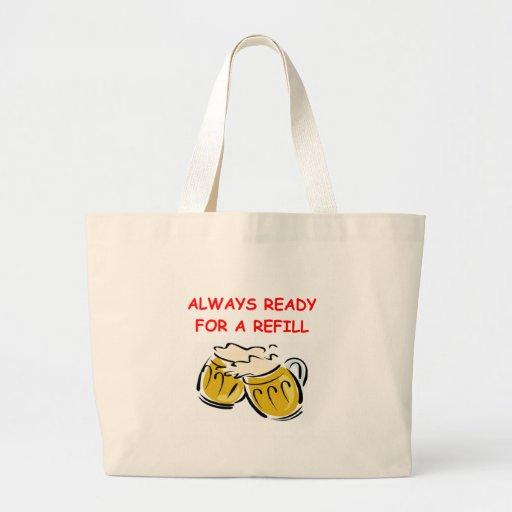 REFILL.png Jumbo Tote Bag