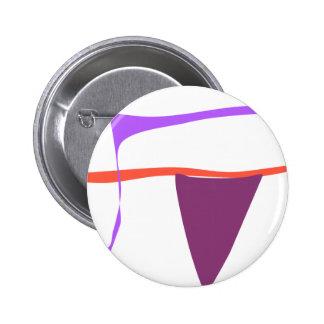 Refined 6 Cm Round Badge