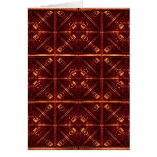 Refined Geometric Pattern Card
