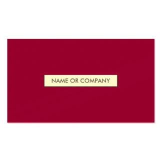 refined magenta pack of standard business cards
