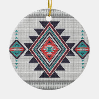 Refined Southwest Christmas Ornament