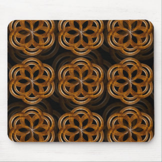 Refined Wood Decorative Background Mouse Pad