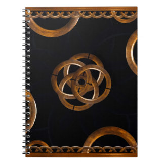 Refined Wood Decorative Background Note Books