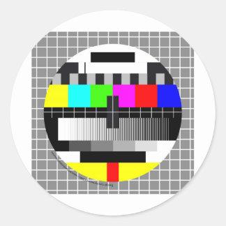 Reflect TV Classic Round Sticker