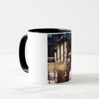 Reflected In A Giant Hand Mug