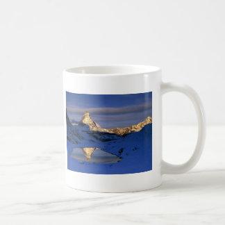 Reflected Matterhorn, Switzerland Coffee Mug