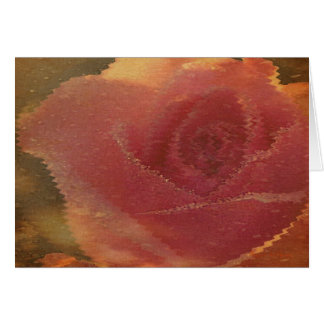 Reflected Rose Greeting Card