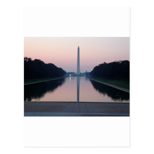 Reflecting Pool Postcard