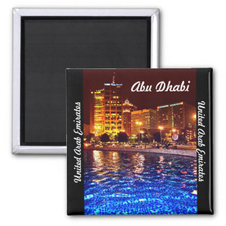Reflecting Pool Square Magnet