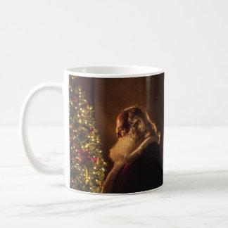 Reflecting Santa Christmas Mug