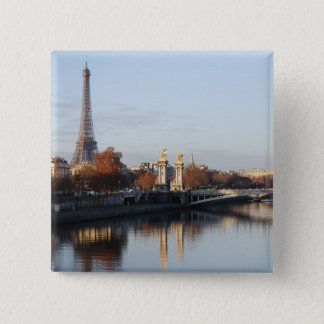Reflection 15 Cm Square Badge