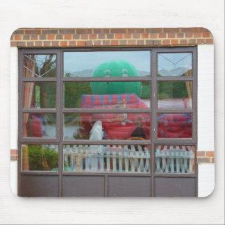 Reflection, a bouncy castle mouse mat