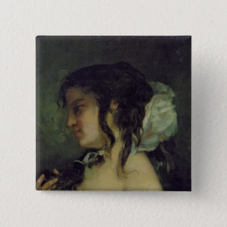 Reflection, c.1864-66 15 cm square badge