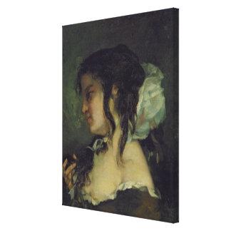 Reflection, c.1864-66 canvas print