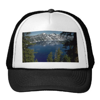 Reflection, Crater Lake, Oregon, U.S.A. Trucker Hat