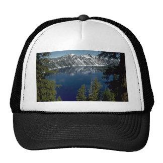 Reflection, Crater Lake, Oregon, U.S.A. Trucker Hat
