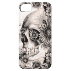 Reflection, floral landscape skull iPhone 5 cover