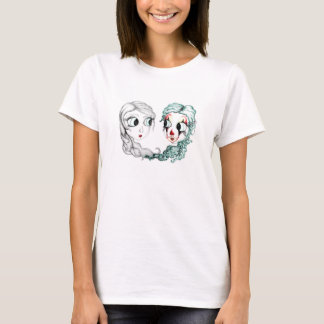 """Reflection"" Illustrated T-shirt"
