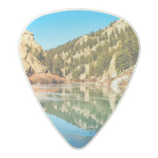 Reflection in Elevenmile Canyon Acetal Guitar Pick