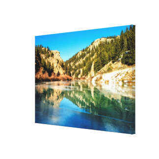 Reflection in Elevenmile Canyon Canvas Print