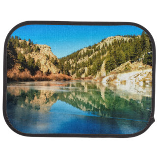 Reflection in Elevenmile Canyon Car Mat